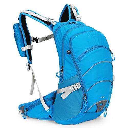 LGH Multifunctional Cycling Backpack, 20L Bracket Backpack, Outdoor Cycling Backpack, Cycling Bag, Bicycle Bag, Water Bag Backpack,Blue