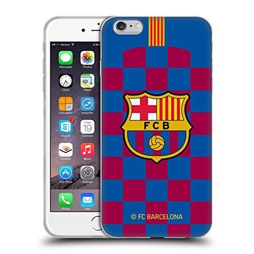Head Case Designs Licenciado Oficialmente FC Barcelona Primera equipación 2019/20 Crest Kit Carcasa de Gel de Silicona Compatible con Apple iPhone 6 Plus/iPhone 6s Plus