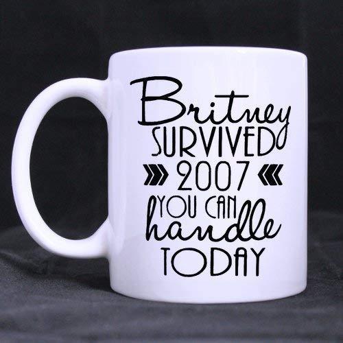 N\A Taza de café Wilbur Britney Survived 2007