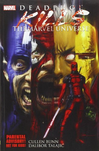 Deadpool paperback Marvel superhero book