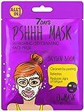 7DAYS Maschera 1 pezzi Menta Acid+ Idratante Bolle Schiuma Bubble Mask