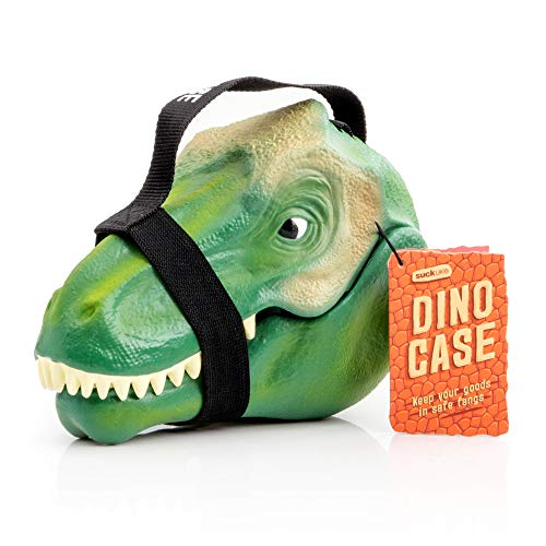 Suck.UK SUCK UK-KIDS LUNCH BOX | TOY STORAGE | BEDROOM DECOR & ORGANIZATION | Dinosaur Case, 9.3 x 4.9 x 6.5 in, Multicolor