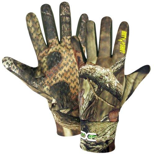 Hot Shot Men's Bronco Gloves, Mossy Oak Break Up Infinity, Larg