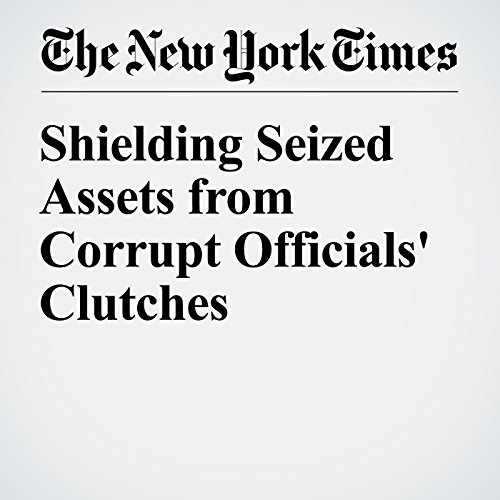 Shielding Seized Assets from Corrupt Officials' Clutches copertina