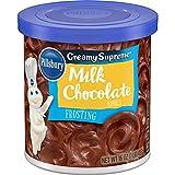 Pillsbury Creamy Supreme Frosting, Milk Chocolate Flavor, 16 Oz
