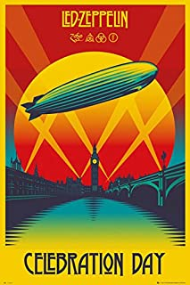 POSTER STOP ONLINE Led Zeppelin - Music Poster/Print (Celebration Day) (Size: 24