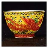 Taza Termo para niños Jingdezhen cerámica Taza de té oolong té Boutique té Tazas de té Hecho a Mano de té de Porcelana Accesorios Master Taza Taza de té Sola Taza (Color : Army Green)