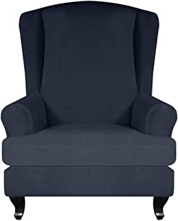 1 Paire /élastique Extensible Chaise de Bureau accoudoir Couvre Ordinateur Chaise Bras Protecteur pour Bureau /à Domicile Rouge Samfox Housse daccoudoir