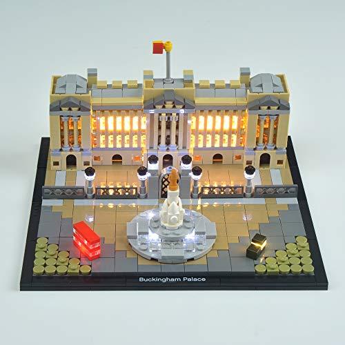 CZA LED Light Up Kit Für Lego 21029 Architecture Series Buckingham Palace Building Blocks Ziegel Spielzeug-Geschenke (Nur Light Set)