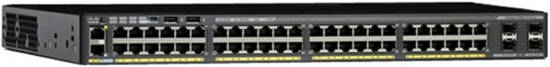 Cisco WS-C2960X-48FPD-L Catalyst 2960-x 48 GigE PoE 740W 2 x 10G Switch