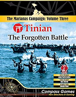 CPS: Tinian, The Forgotten Battle, Boardgame (v.3 of The Mariannas Campaign Game Series)