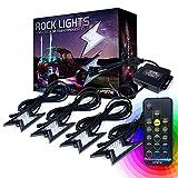Xprite 4pc RGB LED Rock Lights...
