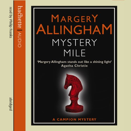 The Mystery Mile audiobook cover art