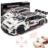 LINANNAN Technic Rally Building Set, 1: 8 Sport Drift Car Collectible Modelo de colección, Bloques de construcción Compatible con Lego Technic, Regalo para Adultos y niños (2289pcs)