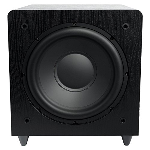"""Sunfire SDS12 12"""" 600W Black Home Theater Sub Powered Subwoofer Sound System"""