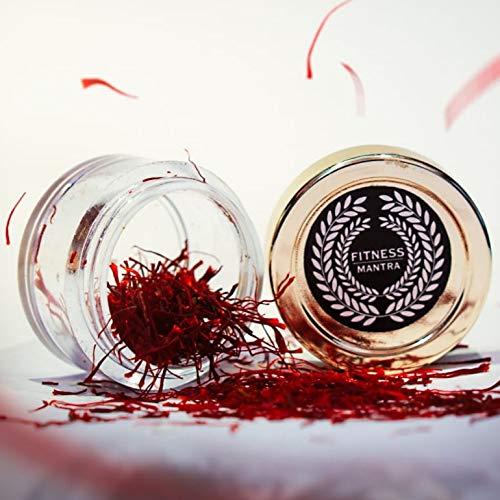 Fitness Mantra Premium A++ ISO 3632 Certified Grade A1 Kashmir Saffron Jar, 1 g