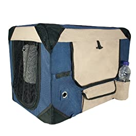 Dogit Deluxe Soft Crate with Bag for Pets