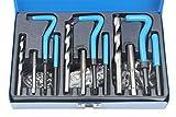 Juego reparador de roscas helicoil BERGEN, 88piezas, conjunto de restauración herramienta de sustitución M6-M10 B2538