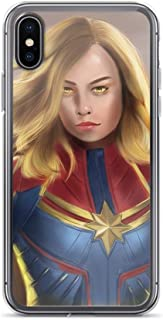 iPhone XR Anti-Scratch Shockproof Clear Phone Case Artwork Captain Stan-lee