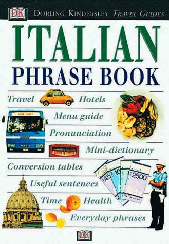 Italian Phrase Book with Cassette(s) (DK Travel Guides Phrase Books)