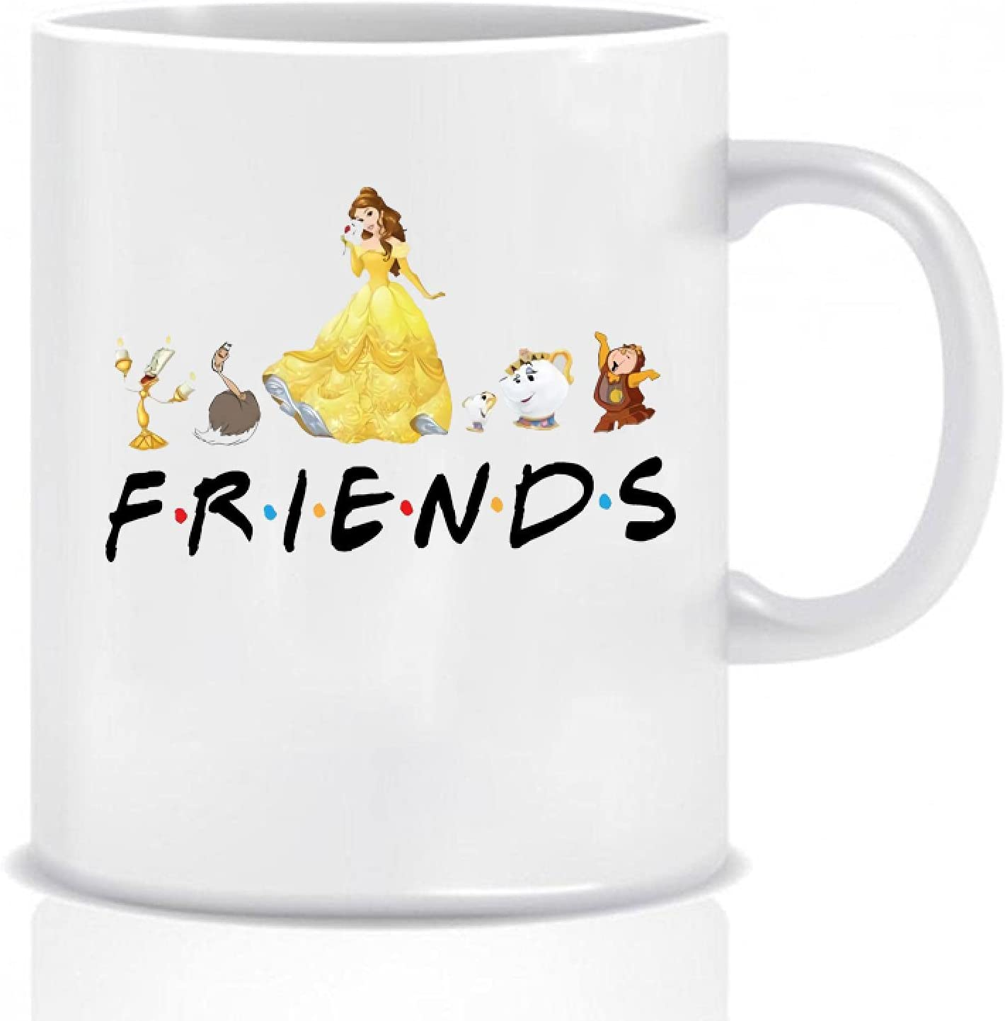 Beautiful Beast Friends Mug Cheap sale Funny Coffe And Mu Max 72% OFF Belle Her