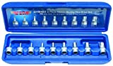 Vim Tools SHM400 9 Piece 1/4-Inch Drive Metric Stubby Hex Bit Set by Cooper