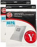 Hoover WindTunnel Y HEPA Pleated Vacuum Filter Bags 4 pack AH10040 902419001
