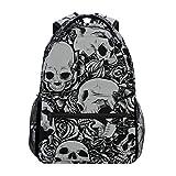 DXG1 Rucksack mit Totenkopf-Motiv, für Damen, Herren, Teenager, Mädchen, Jungen