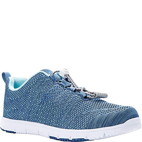 Propet Women's TravelWalker Evo Sneaker, Denim/Lt Blue, 7.5 XW US