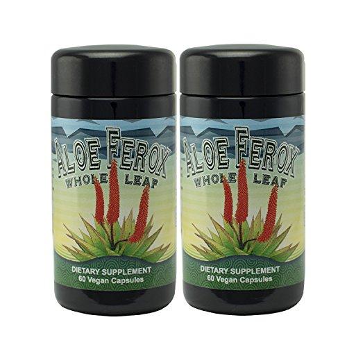 Aloe Ferox Whole Leaf Capsules - 2 Pack