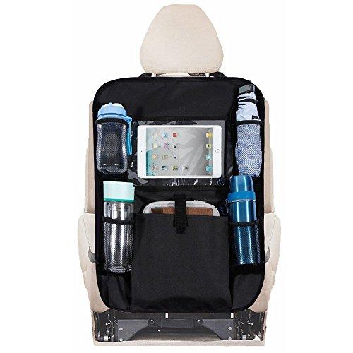Rovtop 2pcs Protezione Sedile Auto Organizer Bagagliaio Resistente Alle Macchie Impermeabile con Tasca...