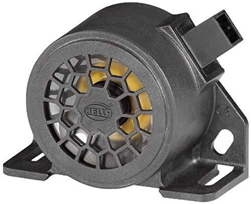 Rückfahr- und Warnalarm, 12 – 24 V, 1200 Hz, 107 dB, integrierter AMP-Stecker