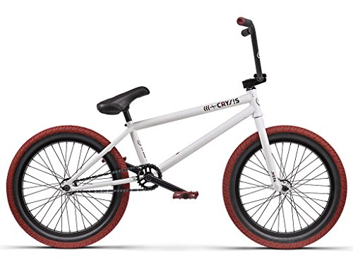 Bicicleta Wethepeople &Laquo;Crysis&Raquo; 2016&Nbsp;Bmx&Nbsp;Blanco Mate, de 20,5 Pulgadas