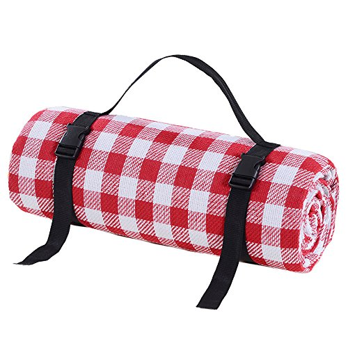MONEYY The Picnic mat red and white format outdoor portable moisture pad tent picnic the picnic camping mats 300*389cm