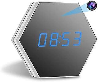 Balscw-J Cámara Oculta Reloj WiFi Cámara espía 1080P cámara de Seguridad con detección de Movimiento de visión Nocturna lu...
