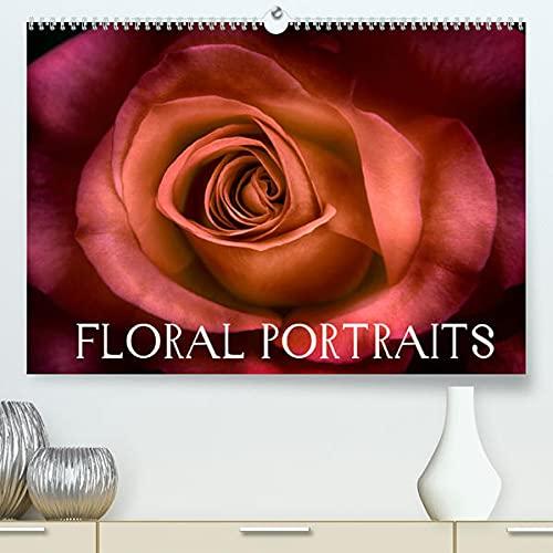 Floral Portraits - Blumen Impression (Premium, hochwertiger DIN A2 Wandkalender 2022, Kunstdruck in Hochglanz):