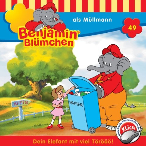 Benjamin als Müllmann Titelbild