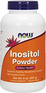 NOW Supplements, Inositol Powder, Neurotransmitter Signaling*, Cellular Health*, 8-Ounce