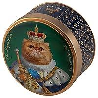 """リチャード ロイヤル セイロン紅茶(キャット柄/ペルシヤ猫)缶 Tea Richard Royal Ceylon """"Royal Cats"""" (Persian, 30g)"""