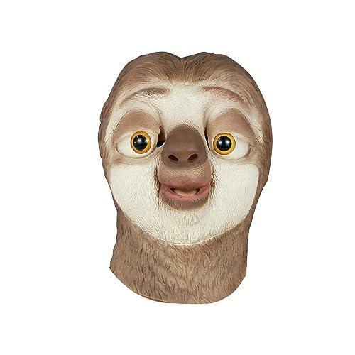 BFJ Zootopia Flash Animal Head Mask Sloth Cosplay Costume 6542ccb781