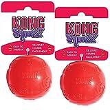 Best Kong Bouncy Balls - KONG Squeezz Ball Dog Toy, Medium, 2 Pack Review
