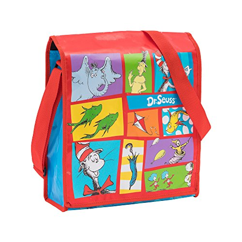 Vandor Dr. Seuss Recycled Messenger Tote (17007)