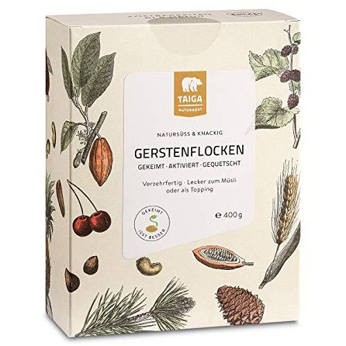 Taiga Naturkost - Bio Gerstenflocken gekeimt - 400 g