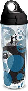 Tervis 1297821 Disney - Nightmare Before Christmas 25th Anniversary Insulated Tumbler with Wrap and Black with Gray Lid, T...