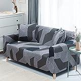 PPOS Farben für Wahl Sofabezug Stretchsitz Couchbezüge 2er-Sofa Sessel Möbel Schonbezüge Sofa Handtuch D9 2er- Sofa 145-185cm-1pc