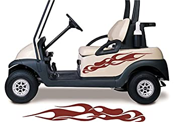 Golf Cart Decals Side by Side Go Kart Stickers Auto Truck Racing Graphics GC107