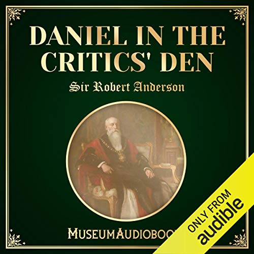 Daniel in the Critics' Den audiobook cover art