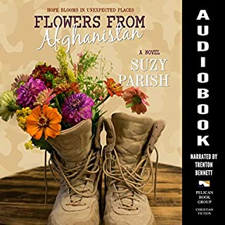 Flowers from Afghanistan audiobook cover art