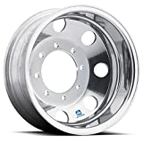Alcoa 19.5' x 6' Polished Rear Dual 8 on 225mm for Ford F450/F550 (763802)