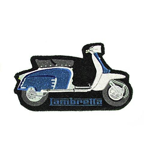 Lambretta LADM04 - Felpudo, PVC, Azul, 80 x 40 x 2 cm